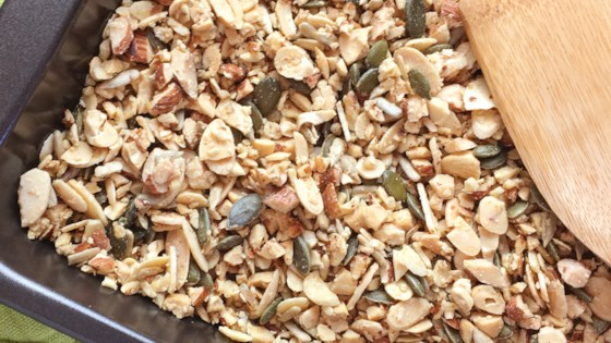 Photo of Easy Grain-Free Nutty Granola by A Day In the Kitchen