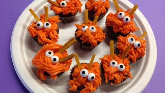 Monster Mini Cupcakes