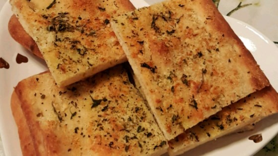 Photo of Garlic Cheese Flatbread by Gina Izzy Shores