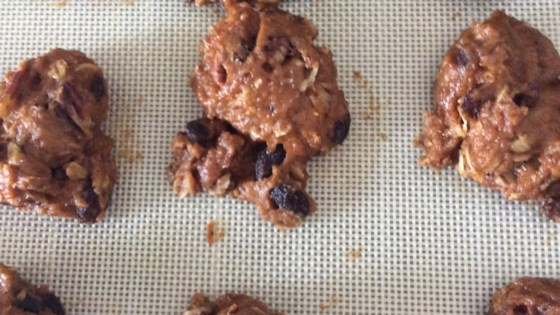 Photo of Healthy Vegan Pumpkin Oat Chocolate Chip Cookies by Julie Manoukian