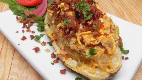 Photo of Stuffed Air Fryer Potatoes by GourmetGirl