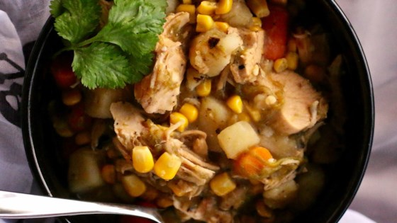 Photo of New Mexican Green Chile Chicken Stew by Ingrid
