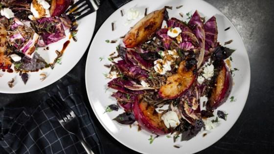 Photo of Grilled Radicchio and Plum Salad by Rachel Lerro