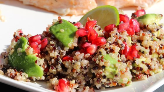 Photo of Avocado, Pomegranate, and Quinoa Salad by sep72fendr