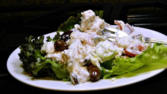 Greek-Inspired Chicken Salad