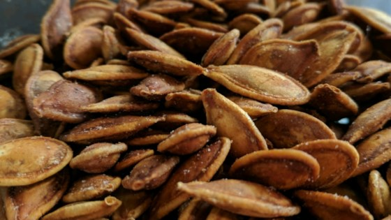 Photo of Spiced Pumpkin Seeds by Carolyn
