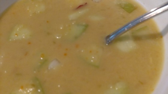 Photo of Cheddar Apple Soup by Chris D. Williams