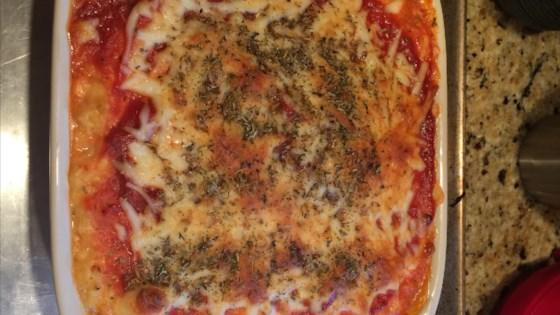Photo of Spaghetti Squash Lasagna by BJBP