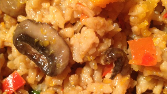 Photo of Instant Pot® Butternut Squash Risotto with Mushrooms by Cindy Spalding