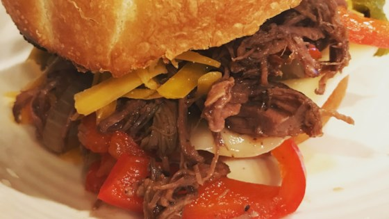 slow cooker italian chuck roast with peppers and onions review