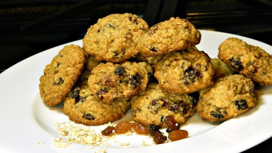 Photo of Gluten-Free Raisin Oatmeal Cookies by terrioj