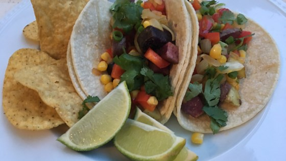 Photo of Vegan Potato Tacos by Heather