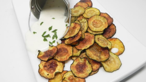 Photo of Simple Zucchini Chips by MyNutriCounter