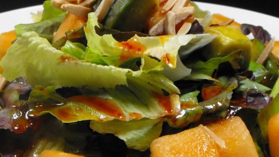 Photo of Avocado and Cantaloupe Salad with Creamy French Dressing by nancy
