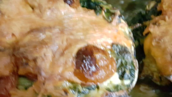 Portobello Stuffed Mushroom Burger