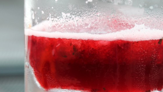 Photo of Agua de Jamaica (Hibiscus Water) by SB