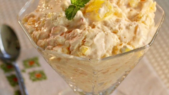 Photo of Pimento Cheese Jell-O® Salad by MOMINATION
