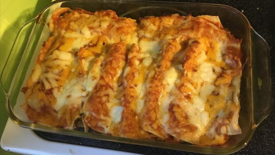 Photo of Bacon-Ranch Chicken Enchiladas by krimille