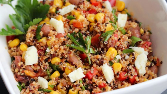 Photo of Southwestern Quinoa Salad by Ashley Steele
