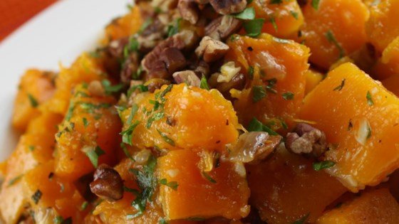Photo of Butternut Squash with Onions and Pecans by Christine L.