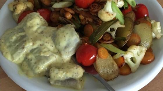 Photo of Hummus Noodle Salad by Dora Bingeman