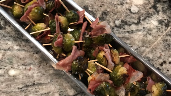 Photo of Roasted Brussels Sprouts and Prosciutto Poppers by RainbowJewels
