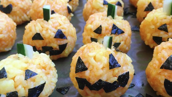 Photo of Jack O'Lantern Onigiri by LauraF