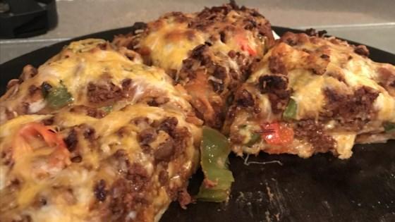 Mexican Deep-Dish Pizza