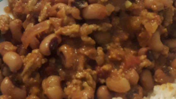 Photo of Minced Beef with Black-Eyed Beans by Asma