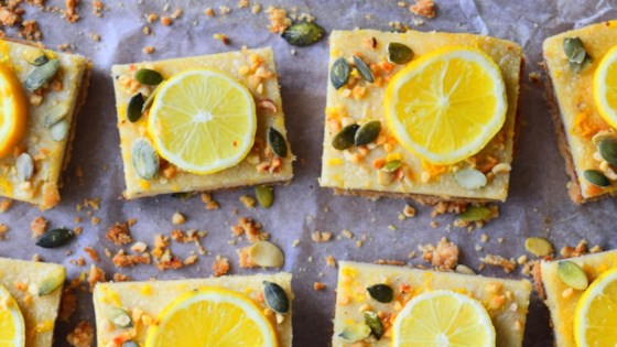Photo of Lemon and Almond Slices by MyNutriCounter