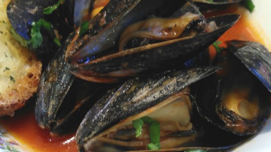 Photo of Mussels Pomodoro by Chef and a Baker