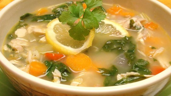 Lemon Turkey Soup