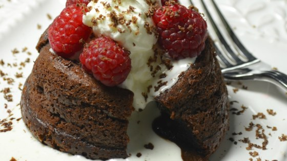 Photo of Sugar-Free Molten Chocolate Cakes by Pyure