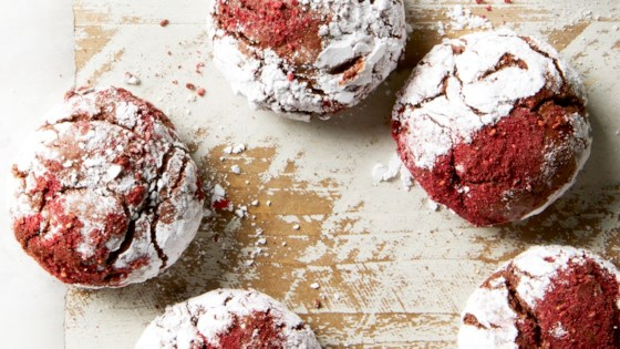 Photo of Raspberry-Chocolate Crinkles by eatthelove