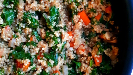 Photo of Savory Vegetarian Quinoa by mandyjean23