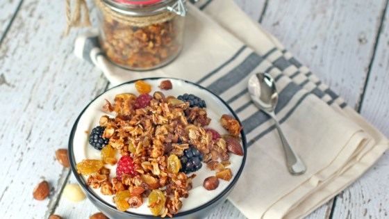 Photo of Honey Nutty Granola by Culinary Envy