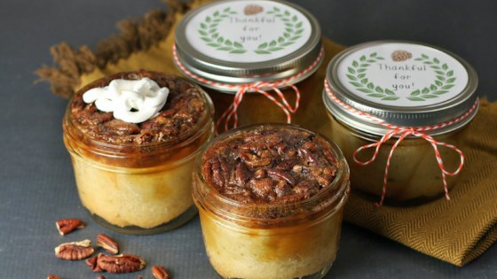 Photo of Traditional Pecan Pie in a Jar by Culinary Envy