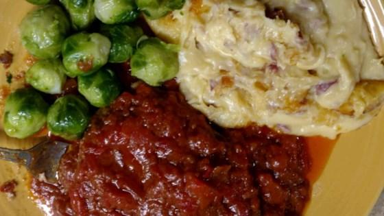 Pork Steak with Paprika Sauce