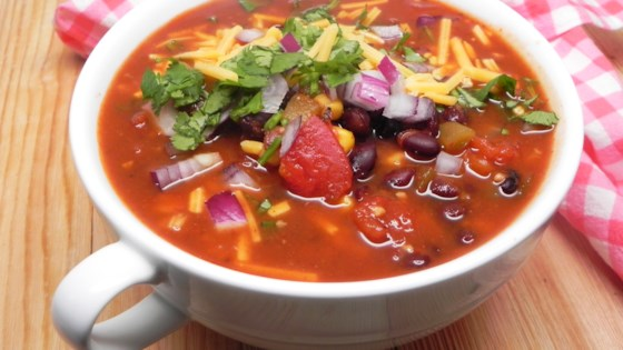 Easy Chicken Enchilada Soup Recipe