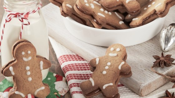 Photo of Gingerbread Men Cookies with Nutella® hazelnut spread by Nutella® hazelnut spread
