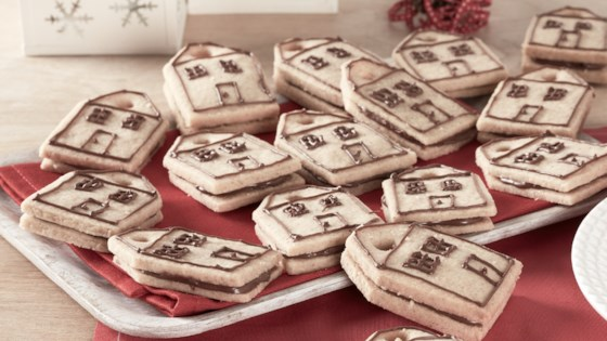 Photo of Decorated Shortbread Cutouts with Nutella® hazelnut spread by Nutella® hazelnut spread