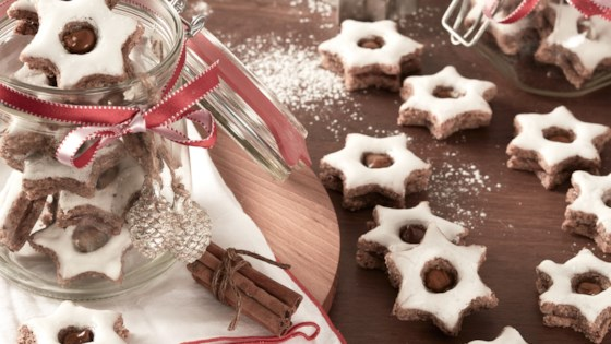 Photo of Cinnamon Star Cookies with Nutella® hazelnut spread by Nutella® hazelnut spread