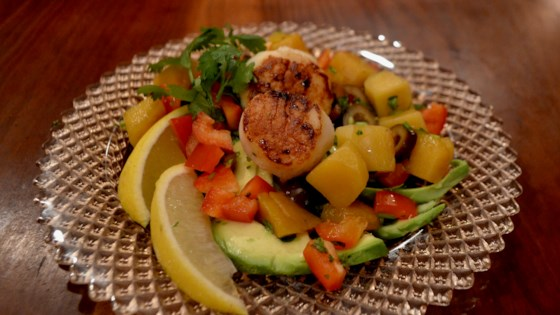 Photo of Avocado, Mango, and Scallop Salad by maplewood