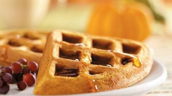 Photo of Pumpkin Waffles by SPLENDA® Sweeteners