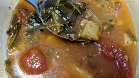 Photo of Vegan Portuguese Kale Soup by Alicia