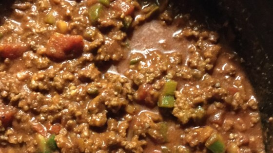 crock pot chili no beans spicy