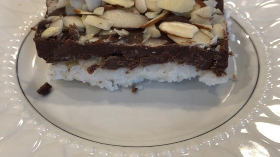 Photo of Choco-coconut Bars by DARBYANNE