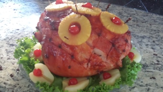 Photo of Honeydear's Holiday Pineapple Baked Ham by Pat