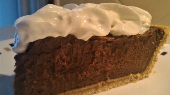 Photo of Grandma Emma's Fudgy Chocolate Pie by Brendles