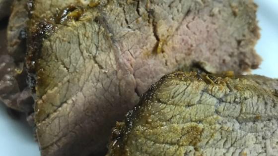 Herb Rubbed Sirloin Tip Roast